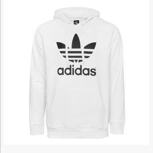 NWT Mens Adidas Trefoil Fleece Hoodie